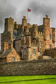 At the Castle of Mey in Scotland.