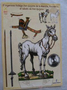 recortable el ingenioso hidalgo don quijote de - Comprar Otros recortables en todocoleccion - 32284876