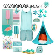 I love wearing turquoise in Summer