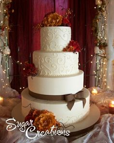 Fall Wedding Cakes | Plain/Hof Fall Wedding Cake | Flickr - Photo Sharing!