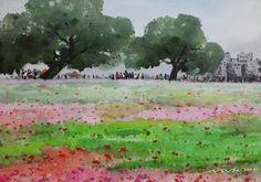 오월  watercolor by insung Jung