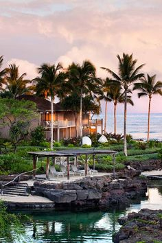 Gorgeous Hawaii views from Four Seasons Hualalai