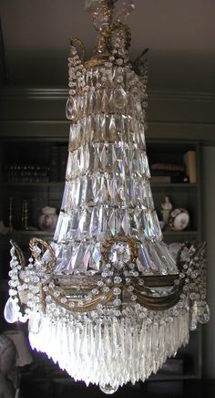 Statement chandelier--French circa 1820