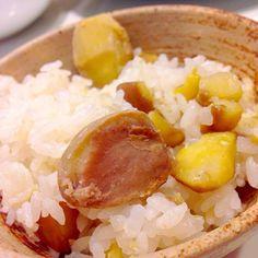 初物、栗ご飯 - 10件のもぐもぐ - 栗ご飯 by mintpm