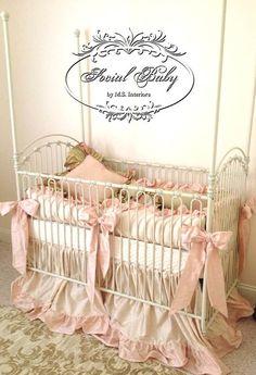 Nursery bedding ideas @Patti Stephens