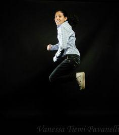 Eu pulando