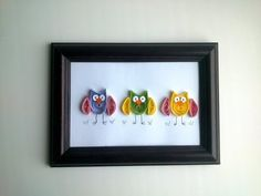 DIY Paper Quilling : How to make DIY quilling wall decor with a quilling Owl.
