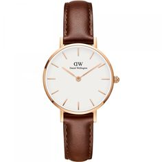 Women's watches in silver and rose gold from Daniel Wellington. See all our watches for women and buy yours here. Daniel Wellington Classic Petite, Daniel Wellington Watch, Bracelet Nato, Bracelet Cuir, Durham, Dw Watch, Minimalist Beauty, Fashion Watches, Gowns