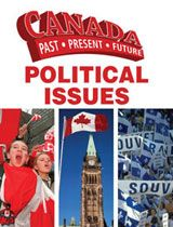 An exploration of political issues in the history of Canada since the first decade of the twentieth century that discusses significant events, policies, and individuals and includes photographs and a time line.