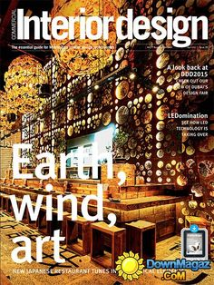 Interior Design Magazine Usa 2015