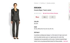 "ESCADA Bilgay Tweet Jacket from Episode 301: ""It's Handled."""