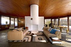 Claim a 1958 Home in Usonia with a Stellar Domed Great Room - House of the Day - Curbed National