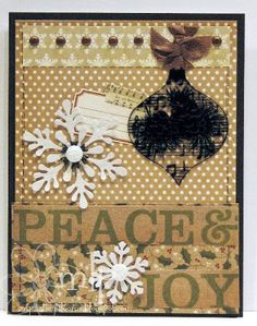 Prickley Pear Rubber Stamps: CLR010A Ornaments Set 2 Clearly Beautiful Stamp Set.