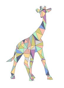 I'm not entirely sure what kind of dog this is. I think it's called a chihuahua? Iris Folding Templates, Giraffe Pictures, Spiritual Animal, What Kind Of Dog, Giraffe Art, Wildlife Art, Geometric Shapes, Animals Beautiful, Fabric Crafts