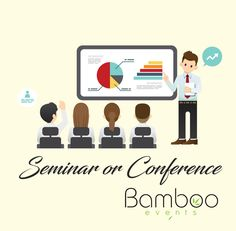 We organise Review meetings, Felicitation, Award functions, Corporate training. Bamboo events Seminar & Conference Organisers - Bangalore