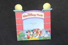 Walt Disney World Picture Photo Frame- Entrance Gate with The Mickey gang