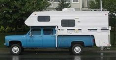 1980 chevy crew cab camper - Google Search