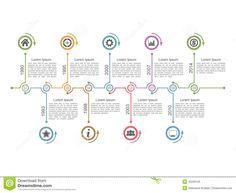horizontal timeline design - Google 搜尋