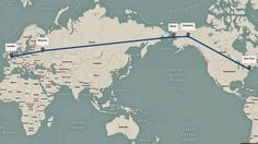 Russia reportedly wants to build a mega-road and rail link from Europe to America - The Washington Post Rail Link, The Washington Post, Has Gone, Russia, Europe, Ocean, America, World, Building