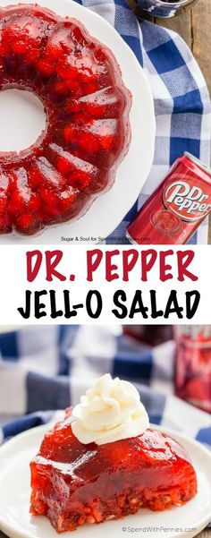 This Dr Pepper Jello
