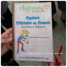 Le Labyrinthe de Merville ou comment apprendre l'histoire de France en s'amusant
