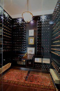 Wine Cellar idea for the basement