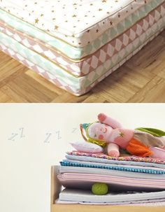 Nobodinoz ha editado su propia colección de pequeños accesorios de decoración para niños . #babylinens colchonetas infantiles