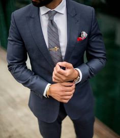 dressy mens fashion looks great 55534 Urban Fashion, Mens Fashion, Fashion Tag, Blazers, Men With Street Style, Front Pocket Wallet, Herren Outfit, Moda Casual, Suit And Tie