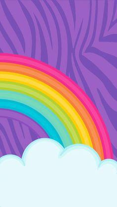 Phone Wallpaper | Line, Colorfulness, Rainbow, Meteorological phenomenon