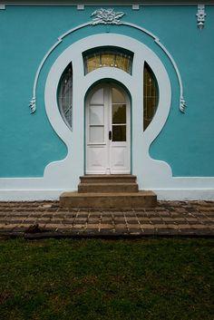 Art Nouveau. Curitiba, Brasil.