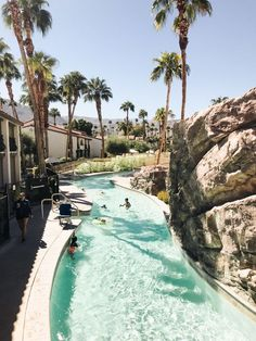 Travelogue: Palm Springs (with kids) - Hither & Thither Palm Springs Resorts, Palm Springs Style, Palm Springs California, California Travel, California Destinations, Ski Resorts, Southern California, Places To Travel, Travel Destinations