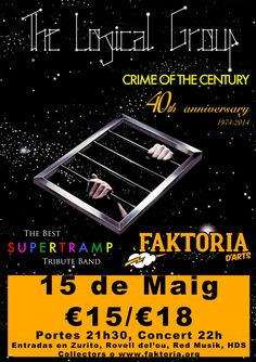 Concierto de The Logical Group (Tributo a Supertramp) en Terrassa