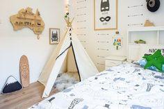 Habitació nòrdica infantil, complements i detalls decoratius / @totnens