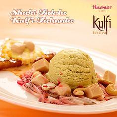 It's time for a taste of royalty in your choice of desserts. Relish the rich & crisp flavours of Shahi Tukda Kulfi Falooda with the Havmor special Kulfi Festival! This fest is available in selected cities for a limited period only. Hurry now!
