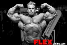 Jay Cutler: Flex Photoshoot after the 2009 Olympia