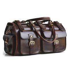 Low Cost Insurance Plan For The Welfare Of Your Loved Ones Marlondo Leather Weekender Duffel Bag - Full Grain Leather, Solid Brass Hardware Black Travel Duffels Leather Duffle Bag, Duffel Bag, Leather Bags, Tote Bags, Leather Overnight Bag, Luggage Sizes, Leather Men, Leather Jackets, Pink Leather