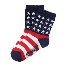 551f2beeb00 Boys Patriot Red Flag Socks by Gymboree Gymboree
