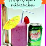 Make sure you have lots of glasses and straws because Fizzy Berry Burst Milkshakes are sure to become a favorite!