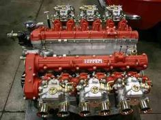 Ferrari 400, a special Ferrari race engine? Nope it's a standard 400 4 cam. Never doubt, it's a real Ferrari..