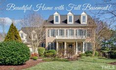 Beautiful home with full basement in Raleigh. Moving to Raleigh, NC? Contact Marc Langefeld, REALTOR. Call 919.749.1117. Email langefeldm@hpw.com.