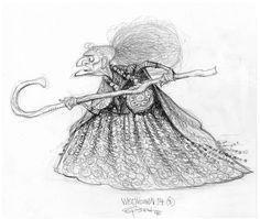 carter goodrich   ... animation brave carter goodrich character design drawing illustration