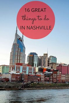 16 Ideas for Your Next Trip to Nashville From great food and music to historical buildings and speakeasies, there are so many great things to see and do in Nashville, Tennessee. Nashville Vacation, Tennessee Vacation, Nashville Tennessee, East Tennessee, Smyrna Tennessee, Nashville Tours, Nashville Broadway, Nashville Attractions, Nashville Food