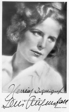 "Helene Bertha Amalie ""Leni"" Riefenstahl (22 August 1902 – 8 September 2003) was a German film director, producer, screenwriter, editor, photographer, actress and dancer widely known for directing the Nazi propaganda film Triumph of the Will. Riefenstahl's prominence in the Third Reich, along with her personal association with Adolf Hitler, destroyed her film career following Germany's defeat in World War II, after which she was arrested but released without any charges."
