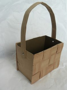 Star studded idea for may baskets teacher ideas pinterest do it yourself easter basket made from a paper sack this would have come in negle Choice Image