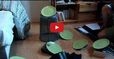 Teen Does Amazing Ping Pong Ball Experiment!