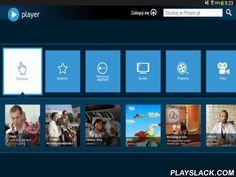 Player (tablet)  Android App - playslack.com , Player jest nową platformą wideo na żądanie. Dzięki usłudze Player użytkownicy mają dostęp do największej biblioteki seriali, show i programów emitowanych na głównej antenie stacji TVN oraz w kanałach tematycznych. Player to także możliwość przedpremierowego oglądania najbardziej oczekiwanych produkcji antenowych. Wersja na tablety. Z aplikacji można korzystać jedynie na terytorium Polski (Twoje IP musi być rozpoznawane jako polskie).Zapoznaj…