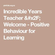 I attended this course in 2017 and really enjoyed it. It will be a great resource to show teachers not only as motivation to attend the course themselves, but also as it shows that many of the interventions I like to try are evidence based. Education Policy, Positive Behavior, Welcome, The Incredibles, Positivity, Teacher, Motivation, Learning, Professor