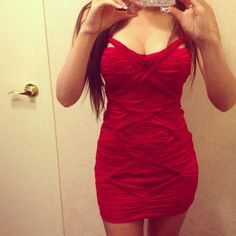 Red dress Tight red dress. Soft, stretchy material that will hug your body. Worn once. Made with high quality material. Dresses Mini
