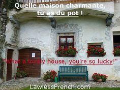 Avoir du pot = To be lucky   http://lawlessfrench.com/expressions/avoir-du-pot/ #frenchexpression #learnfrench #fle #french