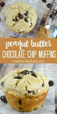 Buttermilk Peanut Butter Chocolate Chip Muffins These fluffy Peanut Butter Chocolate Chip Muffins are so tasty! A perfect muffin recipe for peanut butter and chocolate lovers! Peanut Butter Muffins, Peanut Butter Recipes, Chocolate Chip Muffins, Chocolate Peanut Butter, Chocolate Muffin Recipes, Peanut Butter Breakfast, Chocolate Chocolate, Healthy Chocolate, Simple Muffin Recipe